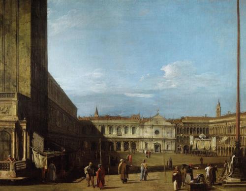 - Piazza San Marco looking west towards San Geminiano