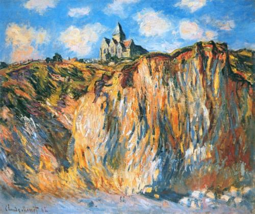 1882 Church at Varengeville, Morning oil on canvas 61 x 74 cm Private Collection