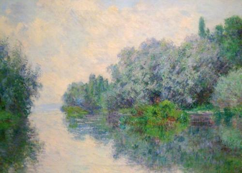 1885 The Seine near Giverny oil on canvas