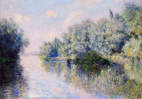 1885 The Seine near Giverny oil on canvas 67 x 82.5 cm Private Collection