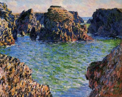 1886 Coming into Port-Goulphar, Belle-Ile oil on canvas 65 x 81 cm Private Collection
