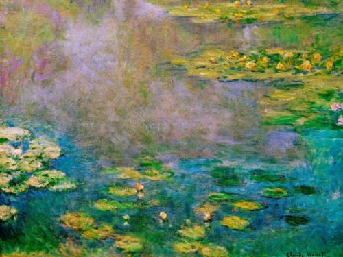 1906 Water Lilies oil on canvas